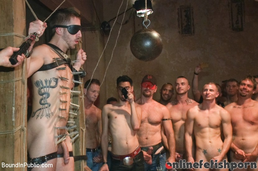 Boundinpublic.com – Bryan Cole is fucked in front of.. Josh West & Jessie Colter & Bryan Cole 2012 Rope Bondage