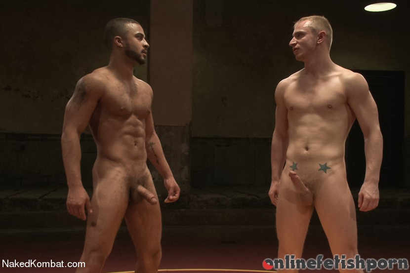 Nakedkombat.com – Damian The Decimator Taylor vs.. Randall O'Reilly & Damian Taylor 2013 Humiliation