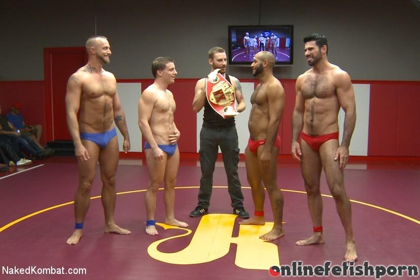 Nakedkombat.com – Summer Smackdown Live Finale Jessie Colter & Billy Santoro & Doug Acre 2014 Athletic