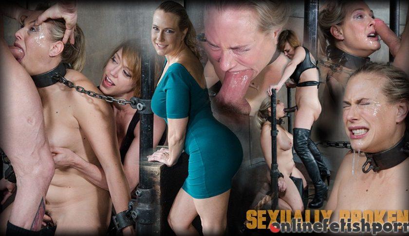Sexuallybroken.com – Angel Allwood is neck bound on a.. Angel Allwood & Dee Williams & Sergeant Miles 2017 Big Breasts