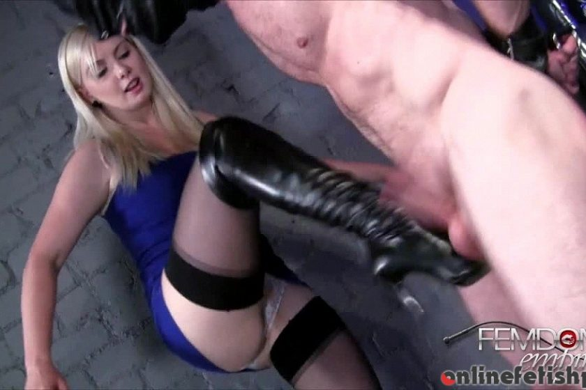 Femdomempire.com – Teased and BUSTED!! Lexi Sindel 2014 Milking