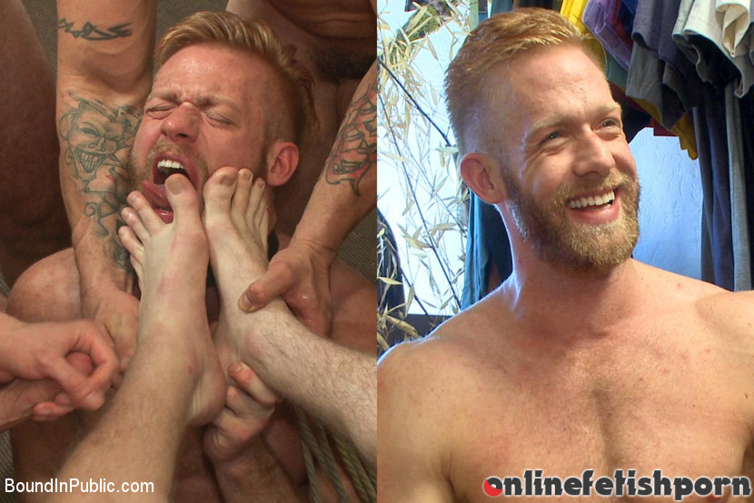 Boundinpublic.com – Muscled stud worships feet and.. Jessie Colter & Christopher Daniels & Trenton Ducati 2014 Feet