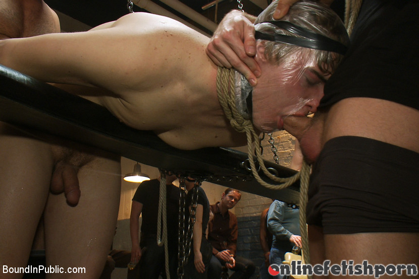 Boundinpublic.com – Sex in The Slaughter House Spencer Reed & Noah Brooks & Brian Bonds 2012 Enema