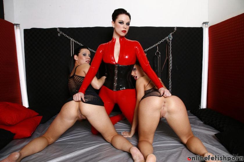 Doghousedigital.com – Lesbian Fetish School, Scene #03 Jenny G & Kream & Mistress V 2012 Softcore