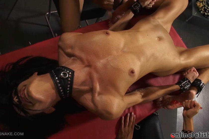 Queensnake.com – NAKED SUSHI Queensnake & Tanita & Diamond  Pee