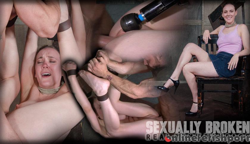 Sexuallybroken.com – Sierra Cirque Fucked and Vibrated.. Sierra Cirque & Matt Williams & Sergeant Miles 2016 Belt Bondage