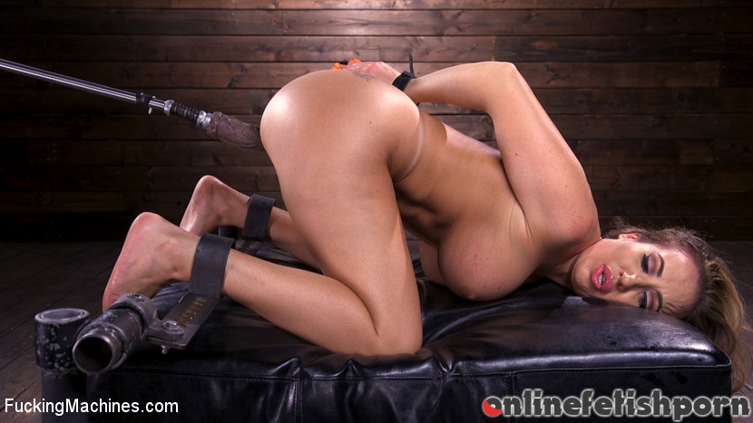 Fuckingmachines.com – Bodacious Curvy Babe is Bound and.. Richelle Ryan 2018 Sybian