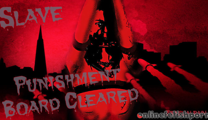 Sensualpain.com – Slave Punishment Board Cleared Abigail Dupree 2016 Slave Girl Trainin