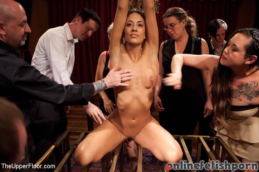 Theupperfloor.com – Slave Initiation: chrome Dylan Ryan & Lyla Storm & Beretta James 2012 Humiliation
