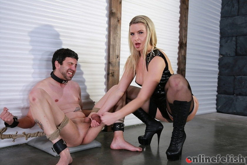 Femdomempire.com – Bound for Busting Anikka Albrite 2017 Big Butts