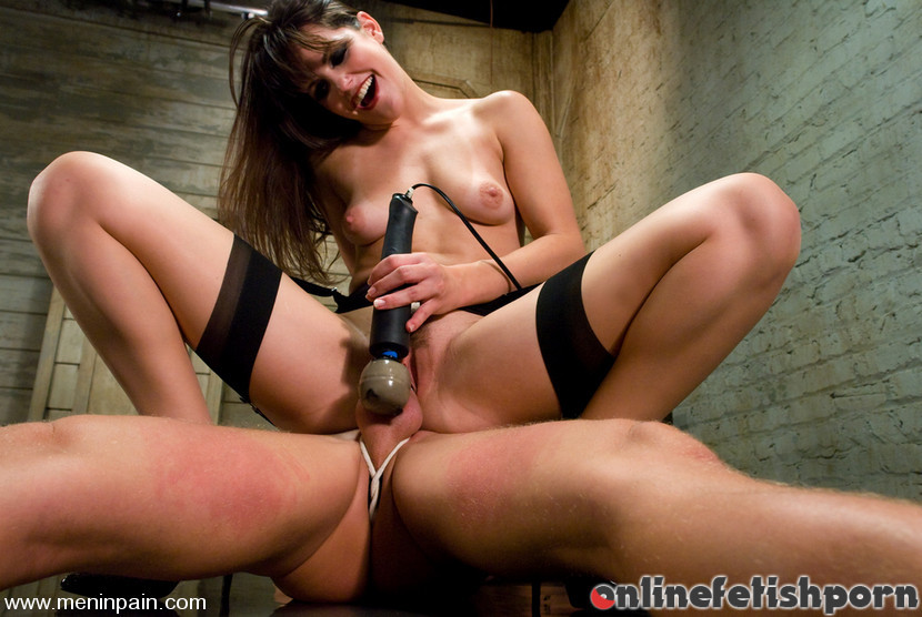 Meninpain.com – Another Day at the Office Bobbi Starr & Chad Rock 2010 Stockings