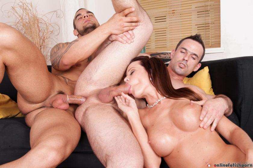 Doghousedigital.com – Bi-Sexual Cuckold #04, Scene #01 Cindy Dollar & Andy West 2013 Threesome