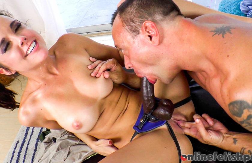 Evilangel.com – Strap For Teacher #03 Kristina Rose & Andy San Dimas & Vin Deacon 2013 Titty Fuck