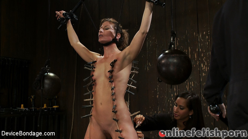 Devicebondage.com – Ariel X takes on the double.. Isis Love & Madison Young & Ariel X 2010 Bdsm
