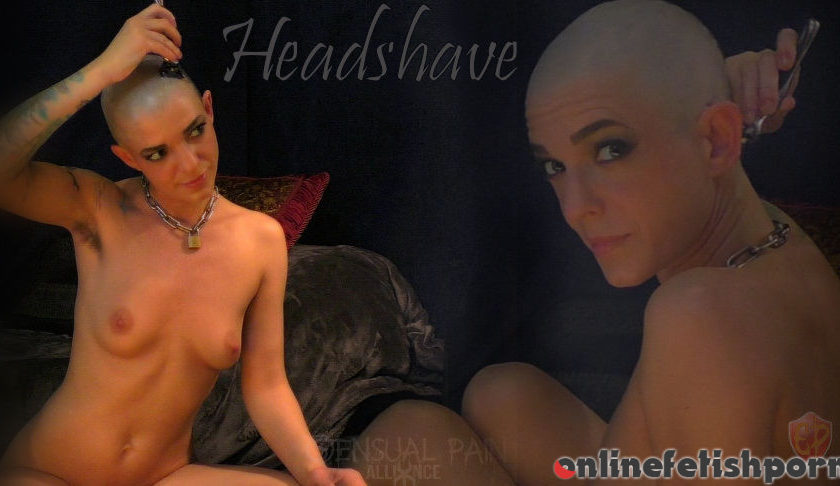 Sensualpain.com – Headshave Abigail Dupree 2017 Rough Sex