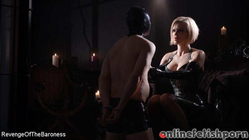 Kink_revengeofthebaroness.com – Ep 2 – Lesson in Latex: the.. Baroness Davina Dust & Mr. Chambers 2018 Discipline