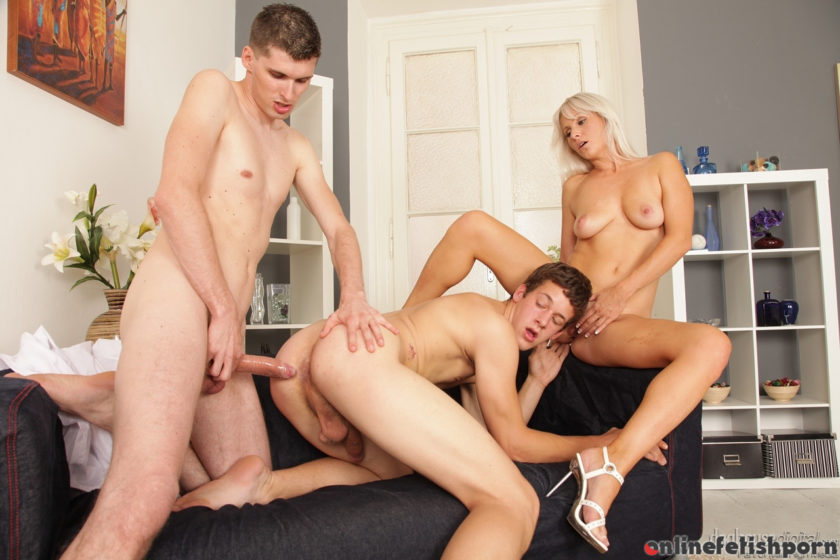 Doghousedigital.com – Bi-Curious Couples #05, Scene #03 Kathy Anderson & Max A & Tommy White 2013 Bisexual