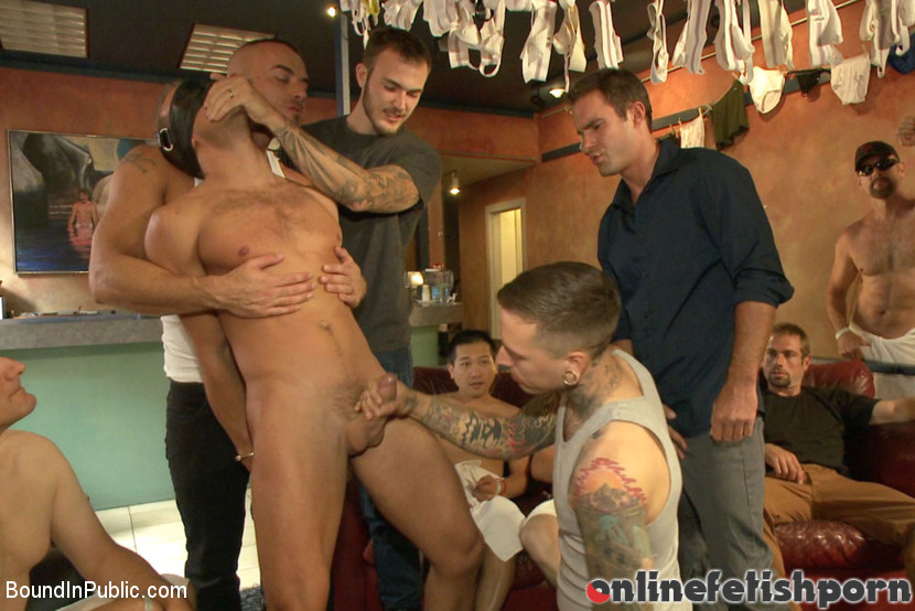 Boundinpublic.com – Bathhouse whore tormented and.. Christian Wilde & Connor Patricks & Jessie Colter 2013 Rope Bondage