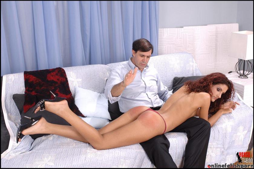 Houseoftaboo.com – Leannas first spanking Leanna Sweet 2006 Hungarian