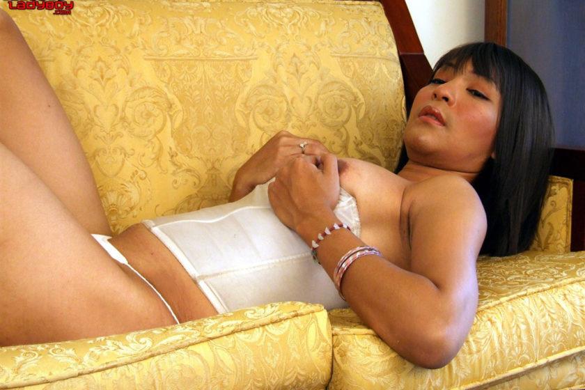 Ladyboyladyboy.com – Luisa Shoots A Huge Load Luisa 2007 Transsexual