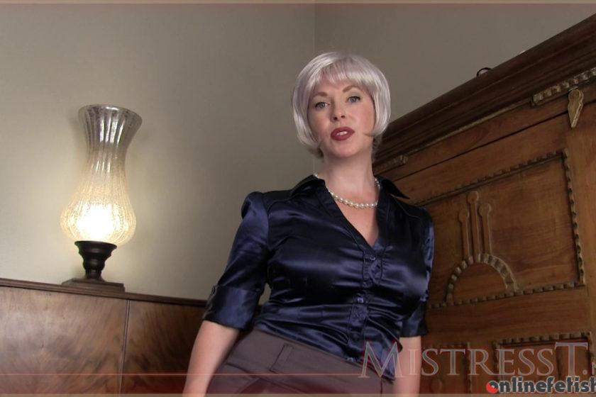 Mistresst.com – MILF's Satin Panty Boy  2014 GILF