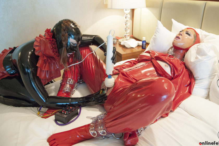Fetishkitsch.com – Playing with Miss K Part 2  2015 Rubber