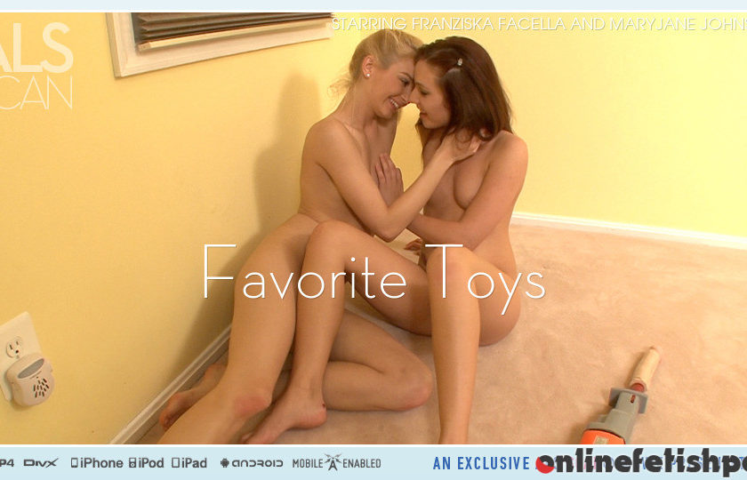 Alsscan.com – Favorite Toys Franziska Facella & Maryjane Johnson 2012 Small Tits