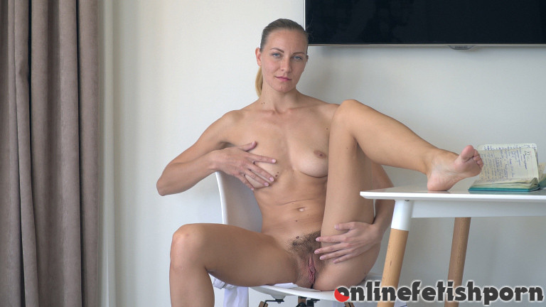 Wearehairy.com – Kristina Bud strips naked after.. Kristina Bud 2018 Striptease