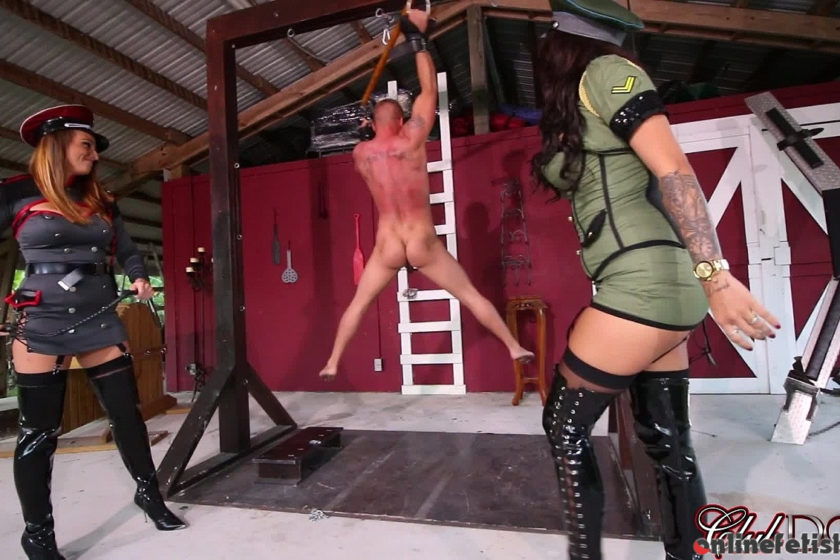 Clubdom.com – Caught by the Guardesses Part 1:.. Jamie Valentine 2016 Whipping