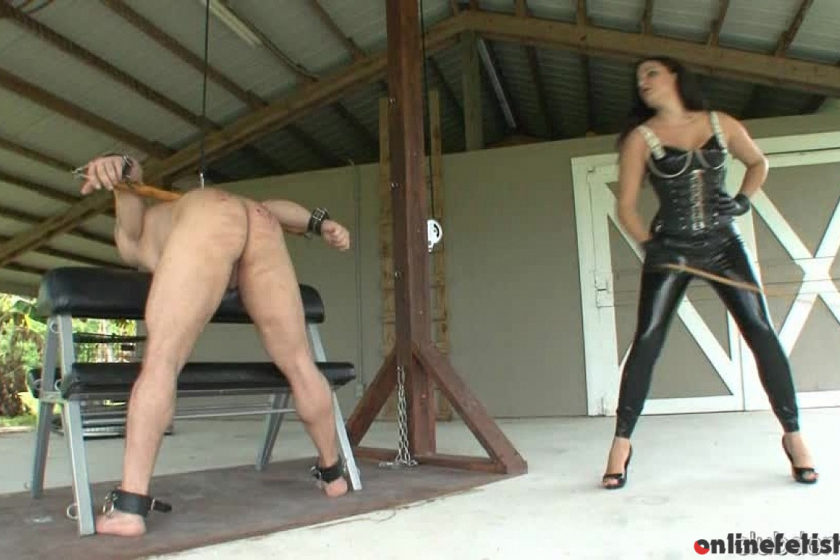 Clubdom.com – Pain and Pleasure Caning Michelle Lacy 2013 Caning