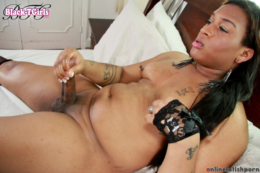 Blacktgirls.com – Fendi Cums For You Fendi Long 2012 Transsexual
