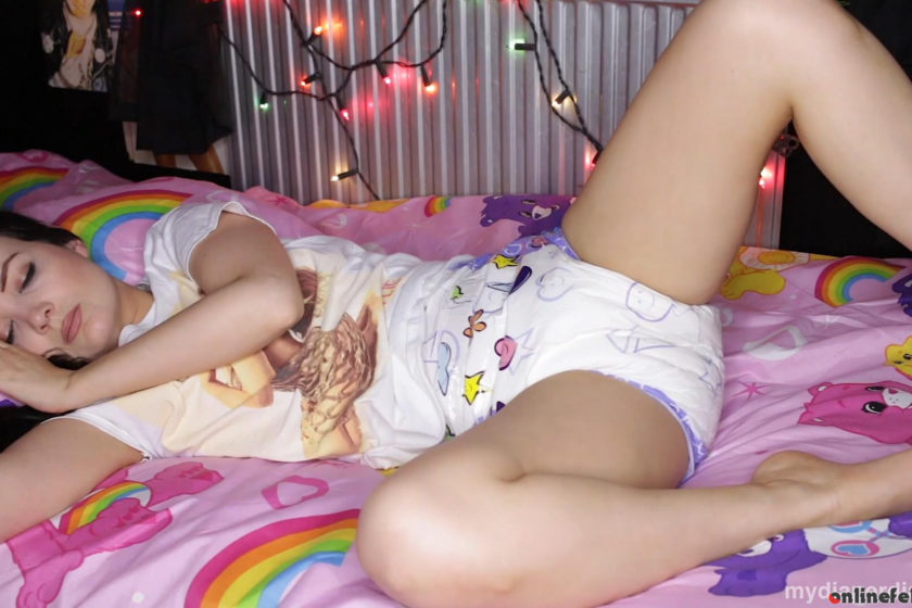 Mydiaperdiary.com – Relaxing cushie bed wetting Faye Taylor 2019 No Boys